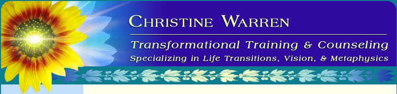 Christine Warren Workshops - Personal Growth Training & Counseling